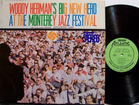 Herman, Woody - Big New Herd At The Monterey Jazz Festival - Vinyl LP Record - Atlantic