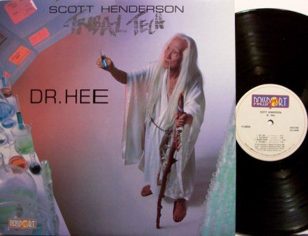 Henderson, Scott & Tribal Tech - Dr. Hee - Vinyl LP Record - Jazz