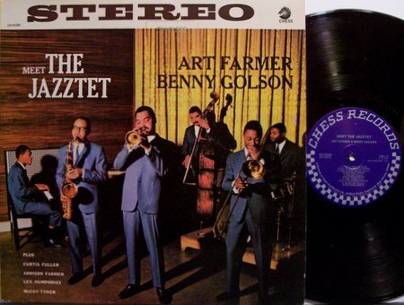 Farmer, Art & Benny Golson - Meet The Jazztet - Vinyl LP Record - Jazz