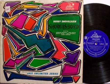 Enevoldsen, Bobby - Smorgasbord - Vinyl LP Record - Marty Paich / Don Heath etc - Jazz