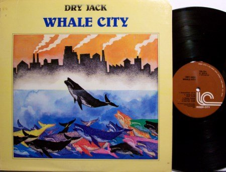 Dry Jack - Whale City - Vinyl LP Record - Jazz