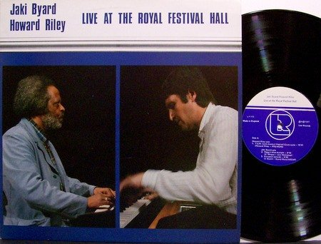 Byard, Jaki & Howard Riley - Live At The Royal Festival Hall - Vinyl LP Record - Leo - Free Jazz