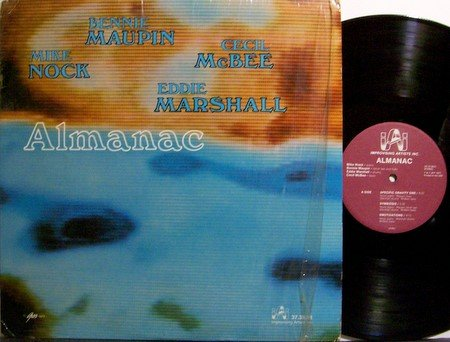 Almanac - Self Titled - Vinyl LP Record - Improvising Artists Label - Jazz