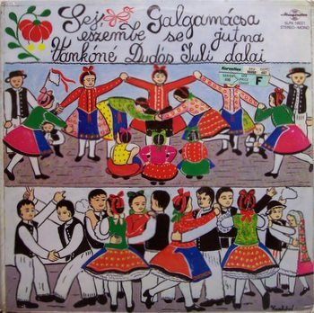 Vanko, Fuli Dudas - Hungarian Folk Songs & Games - Sealed Vinyl LP Record - World Hungary