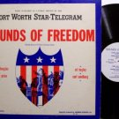 Sounds Of Freedom - Vincent Price / Carl Sandburg etc - Vinyl LP Record - Spoken Word