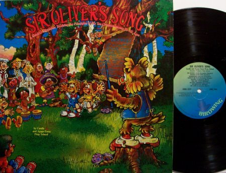 Sir Oliver's Song - Vinyl LP Record - Children Kids Ten Commandments