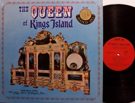 Queen Of Kings Island - Amusement Park Ride Music Carousel - Vinyl LP Record - Carnival