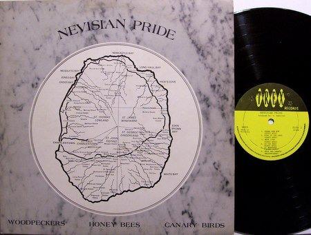 Nevisian Pride - Vinyl LP Record - Barbados Pressing - Calypso Steel Drums