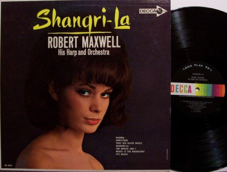 Maxwell, Robert - Shangri-La - Vinyl LP Record - Mono - Cheesecake Sexy Weird Unusual