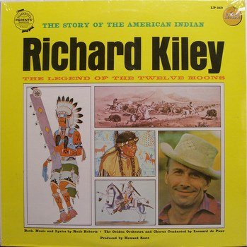 Kiley, Richard - Story Of The American Indian - Sealed Vinyl LP Record - Children Kids