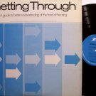 Hard Of Hearing - Getting Through - Vinyl LP Record - Hearing Aid Deaf Deafness - Weird Unusual
