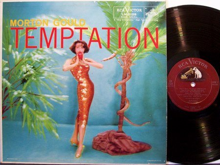 Gould, Morton - Temptation - Vinyl LP Record - Mono - Cheesecake Sexy Weird Unusual