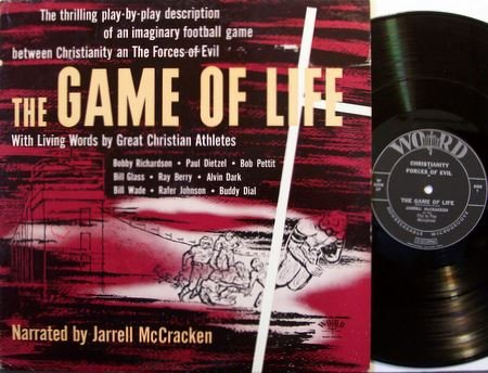 Game Of Life, The - Christianity vs. Evil - Christian Sports Athletes - Vinyl LP Record - Unusual