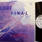 Flight F-I-N-A-L - Vinyl LP Record - A Dramatic Comparison To Death - Airplane - Final - Christian