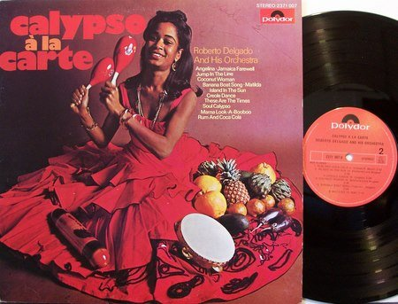 Delgado, Roberto - Calypso A La Carte - Vinyl LP Record - Sexy Cheesecake - World Spain