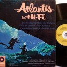Atlantis In Hi Fi - Undersea Theme - Vinyl LP Record - Mono - Forbidden Island Soundtrack