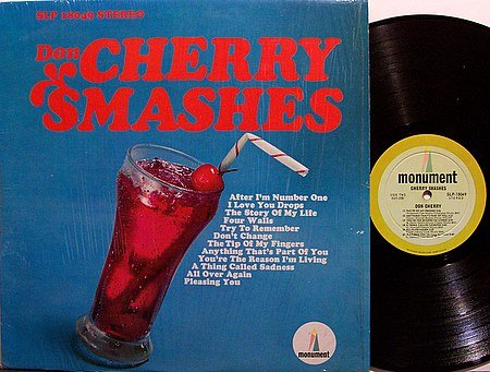 Cherry, Don - Cherry Smashes - Vinyl LP Record - Country