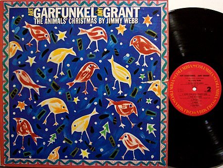 Grant, Amy & Art Garfunkel - The Animals Christmas by Jimmy Webb - Vinyl LP Record - Pop Rock