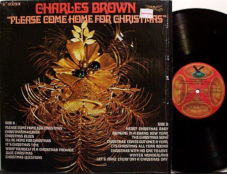 Brown, Charles - Please Come Home For Christmas - Vinyl LP Record - R&B Blues