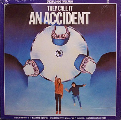 They Call It An Accident - Soundtrack - Sealed Vinyl LP Record - U2 / Marianne Faithful - OST