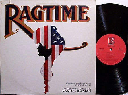 Ragtime - Soundtrack - Vinyl LP Record - Randy Newman - OST