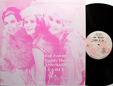 Dames At Sea - TV Soundtrack - Vinyl LP Record - Ann Margret - Joe Wise - OST