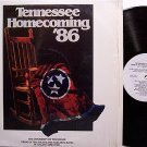 University Of Tennessee Vols - Homecoming '86 - Vinyl LP Record - UT Football Sports