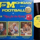 University Of Michigan - Bo's Run For The Roses - Vinyl LP Record - U Of M Football Sports