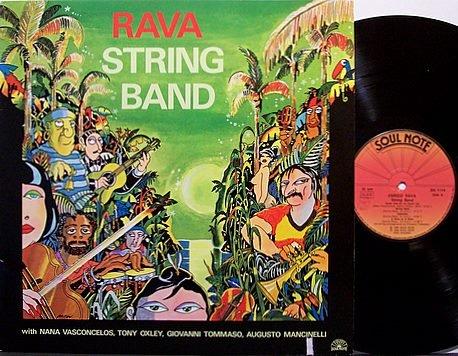 Rava, Enrico - Rava String Band - Italy Pressing - Vinyl LP Record - Soul Note Jazz