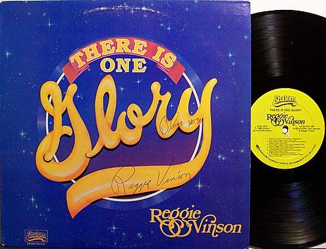 Vinson, Reggie - There Is One Glory - Signed - Kiss / John Lennon / Alice Cooper - Vinyl LP Record