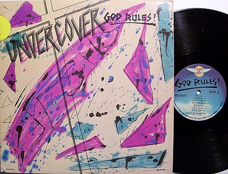 Undercover - God Rules - Vinyl LP Record - Christian Rock