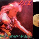 Rez - Between Heaven 'N Hell - Vinyl LP Record - Christian Rock
