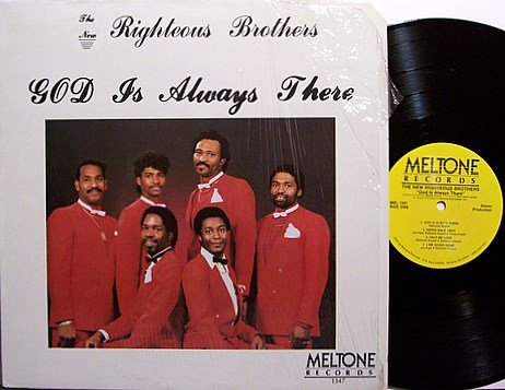 New Righteous Brothers, The - God Is Always There - Vinyl LP Record - Private Gospel