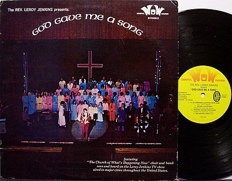 Jenkins, Reverend Leroy - The Church Of What's Happening Now - Vinyl LP Record - Weird Christian