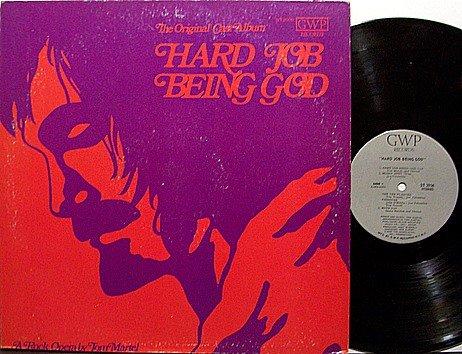 Hard Job Being God - Tom Martel Rock Opera - Original Cast - Vinyl LP Record - Christian