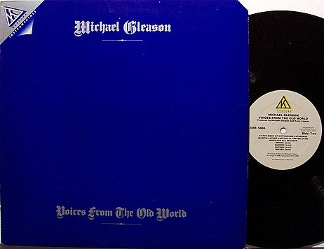Gleason, Michael - Voices From The Old World - Vinyl LP Record - Kerry Livgren - Christian
