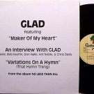 Glad - Interview - Promo Only - Radio Vinyl LP Record - 1983 - Christian