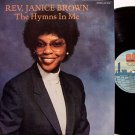 Brown, Reverend Janice - The Hymns In Me - Vinyl LP Record - Gospel