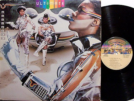 Ultimate - Self Titled - Vinyl LP Record - Promo - 1980 Female R&B Funk