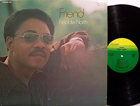 North, Freddie - Friend - Vinyl LP Record + Poster - R&B Soul