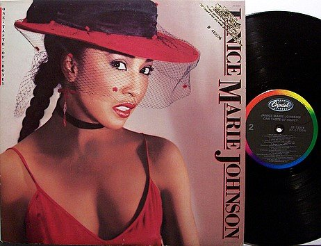 Johnson, Janice Marie - One Taste Of Honey - Vinyl LP Record - Promo - R&B