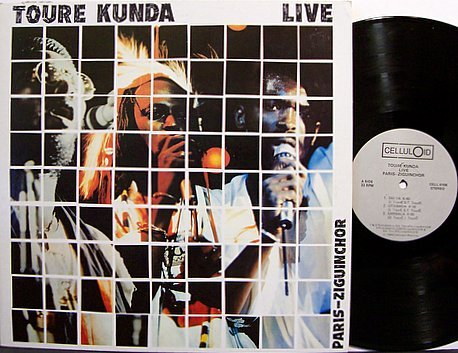 Toure Kunda - Live Paris-Ziguinchor - Vinyl LP Record - African Senegal
