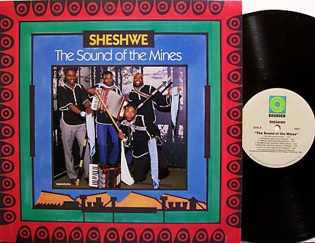 Sheshwe - Sound Of The Mines - Vinyl LP Record - Various African South Sotho Artists