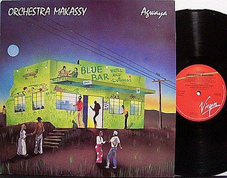 Orchestra Makassy - Agwana - Vinyl LP Record - African Soukouss Zouk