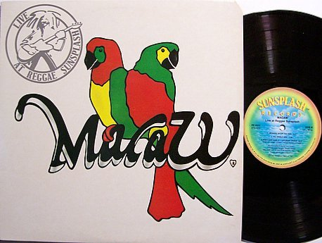 Macaw - Live At Reggae Sunsplash - Vinyl LP Record