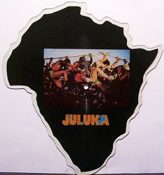 Juluka - Shaped Picture Disc - Vinyl Record - Johnny Clegg - African Beats