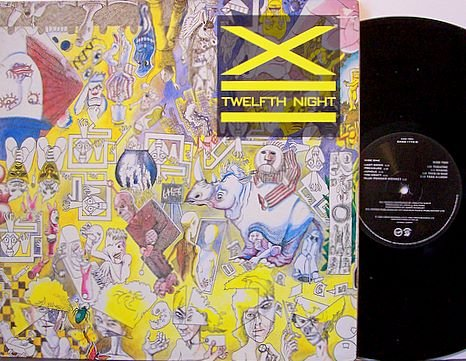 X - Twelfth Night - 12th - UK Pressing - Foldout Cover - Vinyl LP Record - England Punk Rock