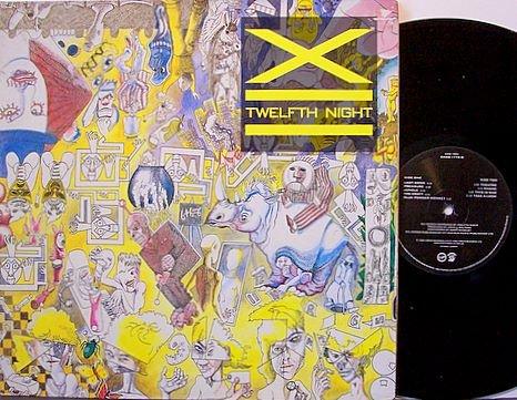 X - Twelfth Night - 12th - UK Pressing - Foldout Cover - Vinyl LP Record - England Punk Rock