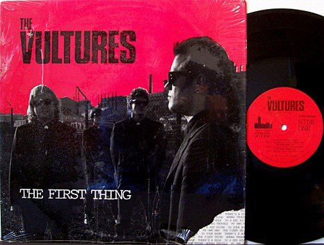 Vultures, The - The First Thing - Vinyl LP Record - Private PA Punk Indie Rock