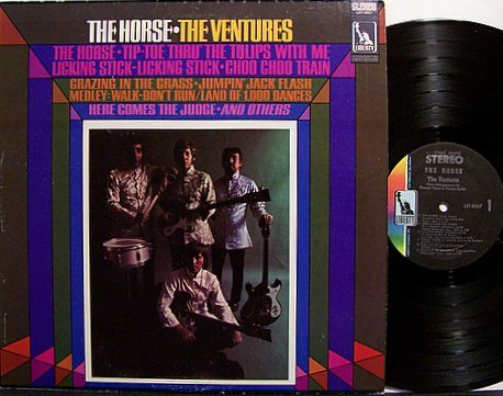 Ventures, The - The Horse - Vinyl LP Record - Liberty Stereo - Instrumental Surf Rock